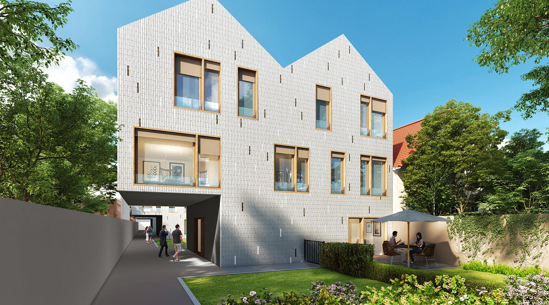 Bâtiment logement 3D