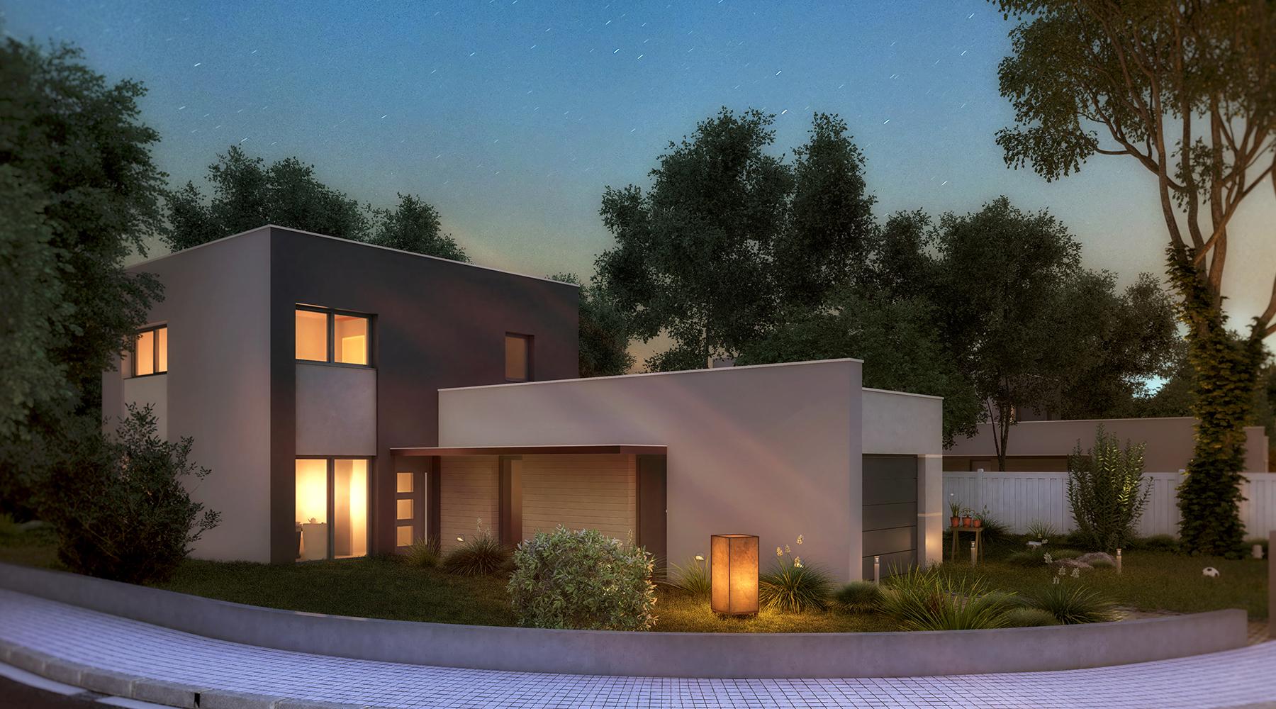 Villa individuelle 3D